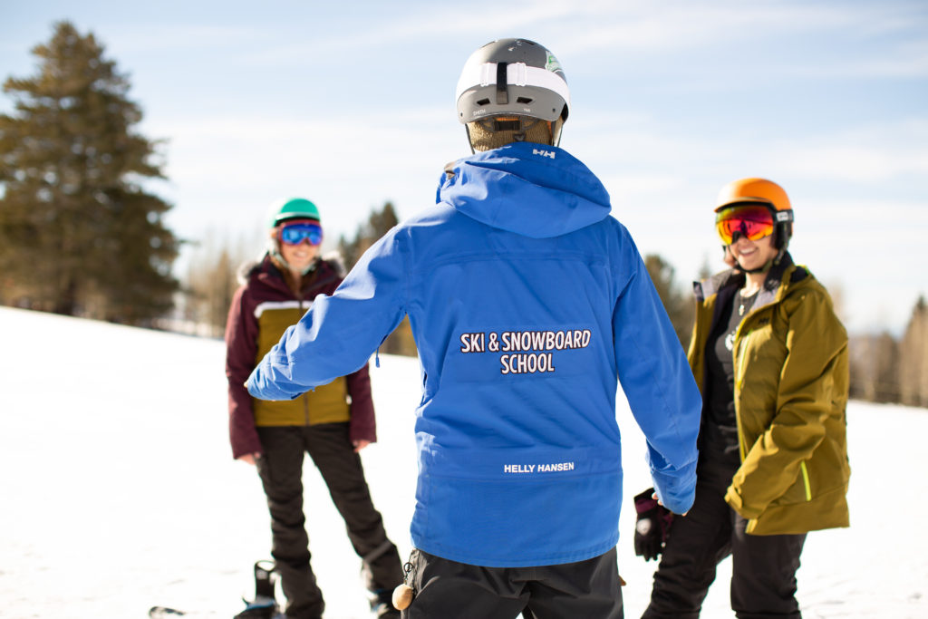 TBL lesson at Arizona Snowbowl